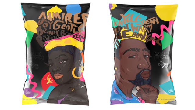 The Meaning Behind These Gorgeous Limited-Edition Doritos Bags