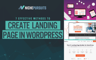 how to create a landing page in wordpress 7 most effective methods - How To Create A Landing Page In WordPress: 7 Most Effective Methods
