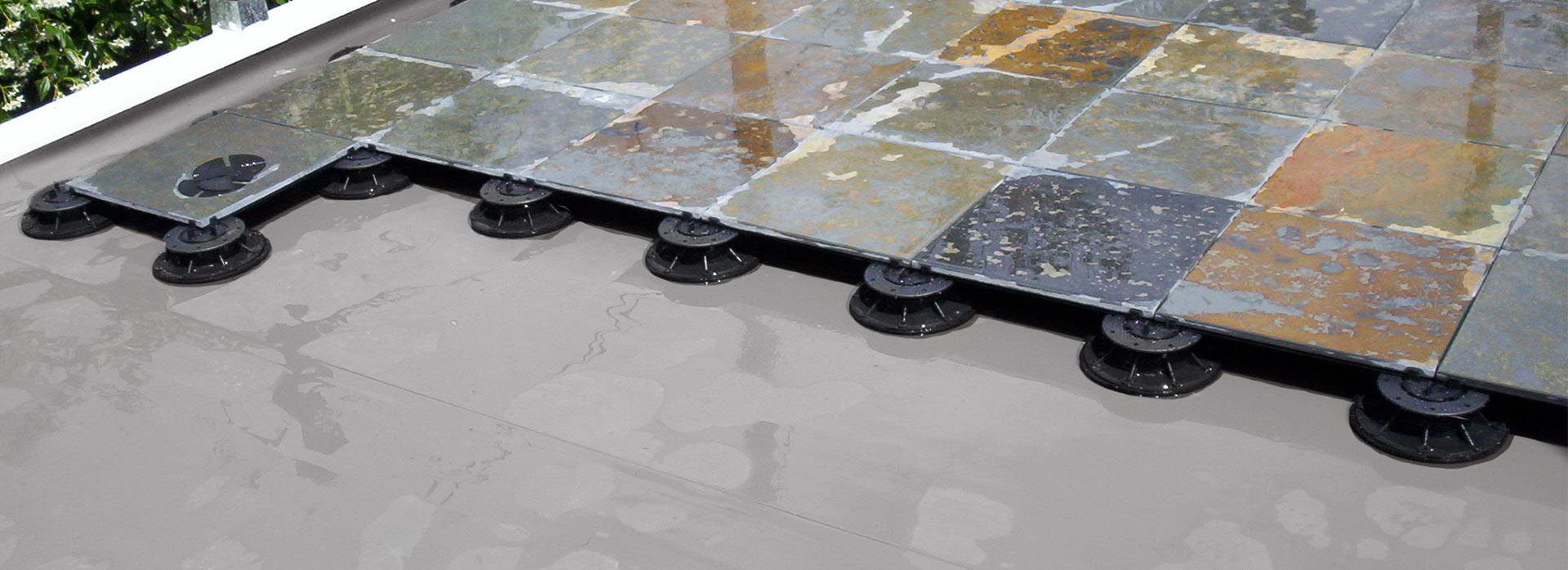 floating deck systems waterproofing