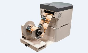 UniNet iColor 700 color laser label printer