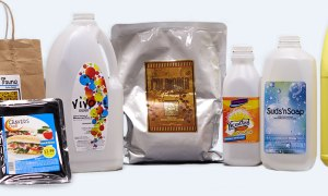 Product labels printed by iColor 900