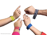 Custom wristbands printed with TM-C3500