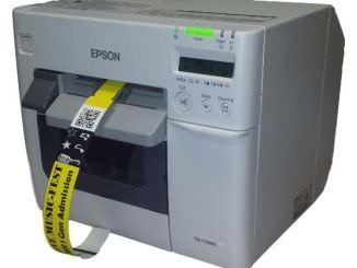 Epson TM-C3500 wristband printer