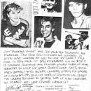 Duranies Unite Fan Club Flyer