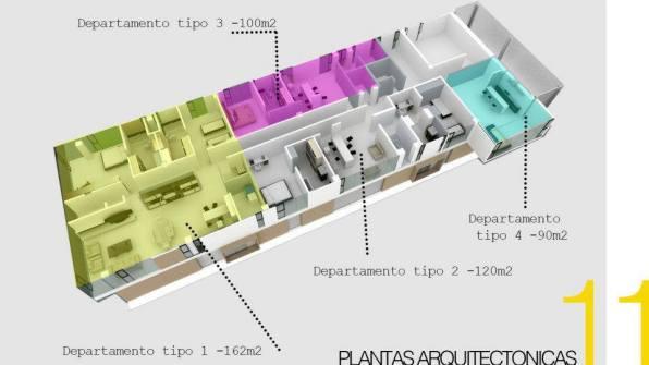 Estructura nueva del edificio