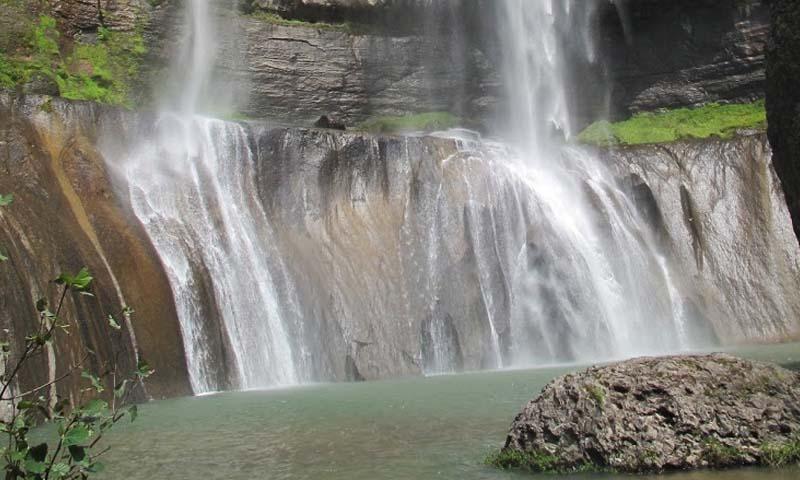 """Cascada """"El Salto del Agua Llovida"""""""