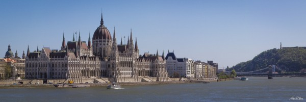 Budapest Parliment Building, Danube River