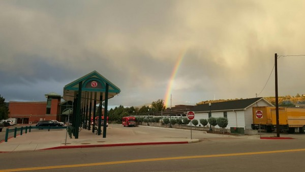 Rainbows in Downtown Durango