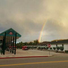 Rainbows are everywhere in Durango!!
