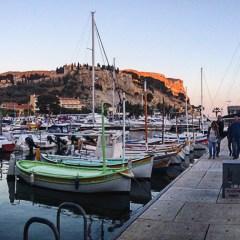 Walking the Oceanfront Restaurants of Cassis