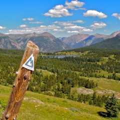 The Colorado Trail: Colorado's 486 Mile Trail