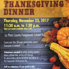 Durango Community Thanksgiving Dinner