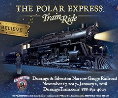 The Polar Express Starts Up for Christmas 2017