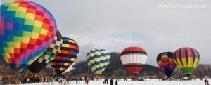 snowdown ballons
