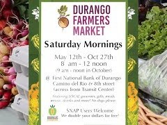 Durango Farmers Market Opens May 12