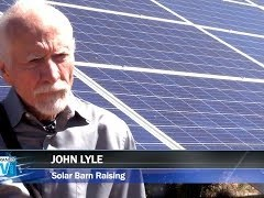 Solar Barn Raising Cuts Costs