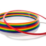rainbow hoola hoops