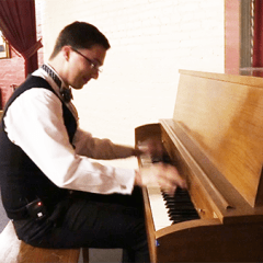 Enjoy Old-Fashioned Silent Movies with Live Piano