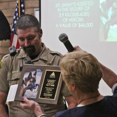 As K-9 Jimmy retires, Durango Kennel Club gives back!!