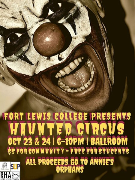 fort lewis college haunted house