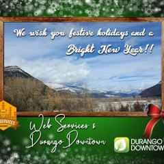 Happy Holidays from DurangoDowntown.com