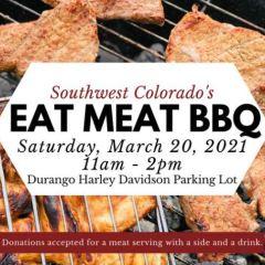 Eat Meat BBQ at Harley Davidson