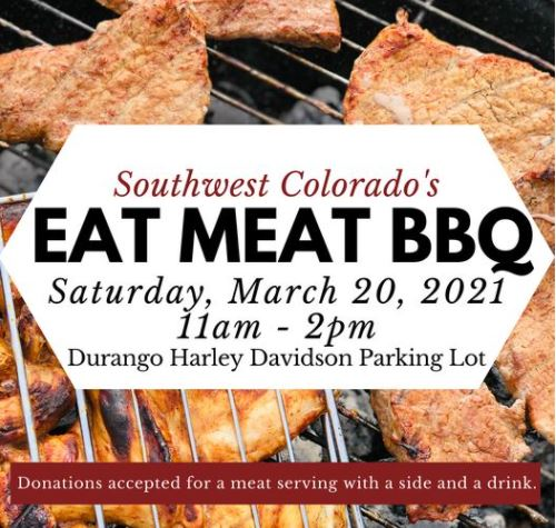 eat meat BBQ