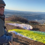 Opening Day for Paragliding on Smelter Mountain