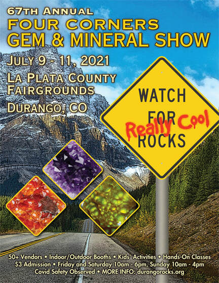 gem and mineral show flyer