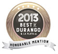 2013 dest of durango broker honorable mention