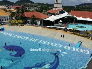 Duranorell.com | Becuti Seisi Keluarga di Gold Coast Malacca International Resort - Water Theme Park Malacca