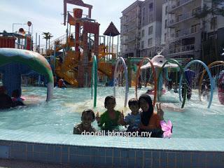 Duranorell.com   Becuti Seisi Keluarga di Gold Coast Malacca International Resort - Water Theme Park Malacca