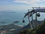 SkyCab Langkawi di puncak Gunung Mat Cincang