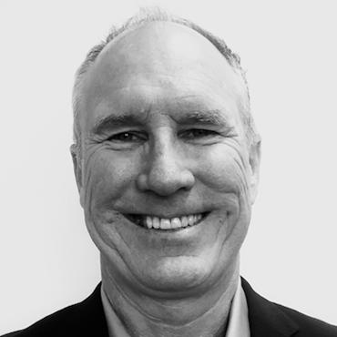 Black and white image of Scott Weller