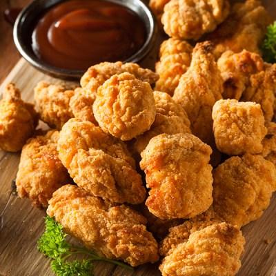 Crumbed Chicken Pops