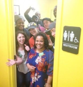 genderneutral bathroom