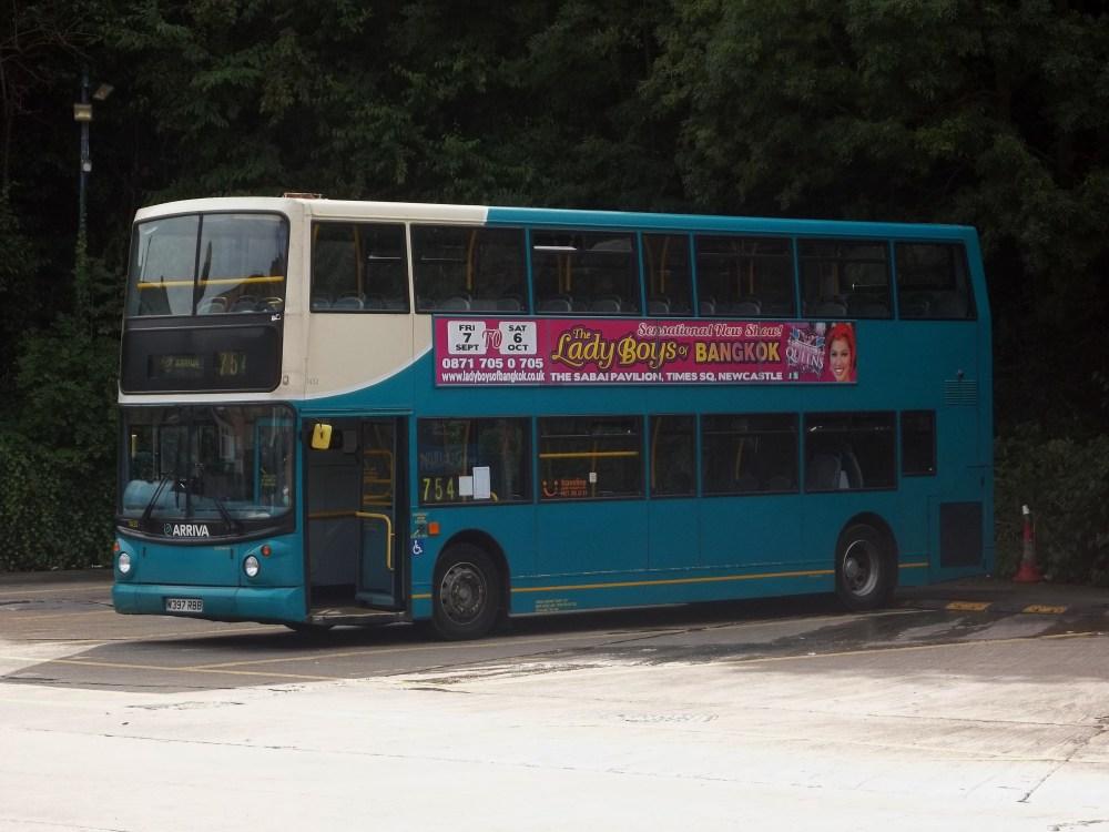 Arriva Durham Update 10/09/12 (1/2)