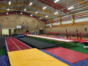 Durham City Gymnastics Club track