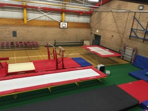 Durham City Gymnastic Club gym