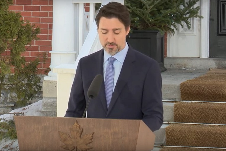 Justin Trudeau on $82bn economic recovery plan