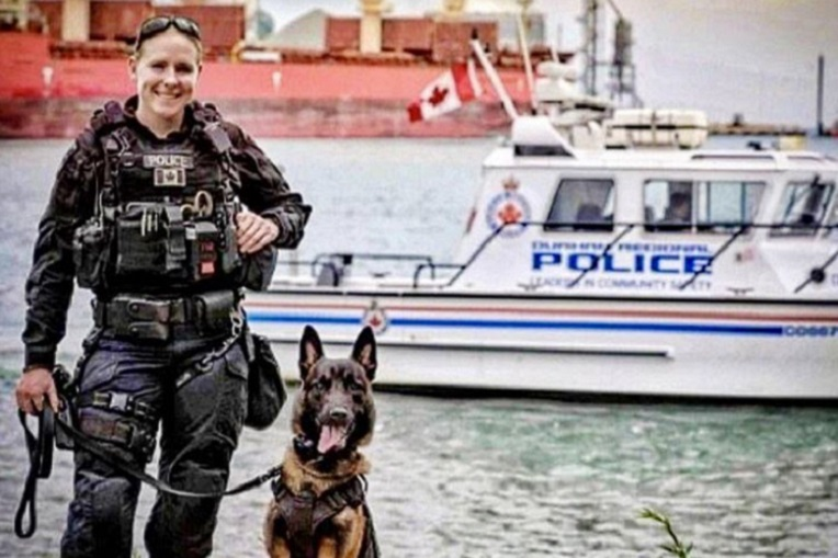 Durham gets its first-ever K9 woman police officer
