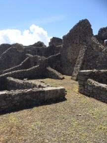 Remains of the gladiators' barracks