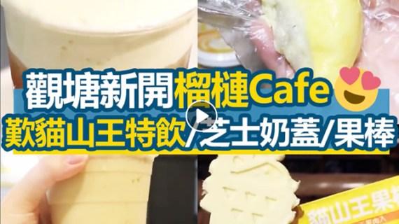 【觀塘美食】3 日限定檳城榴槤市集 榴槤 Cafe 即將開業歎榴槤特飲 (港生活 / 2018-05-30)