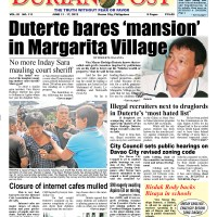 Duterte bares 'mansion' in Margarita Village
