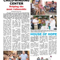 DAVAO CITY CHILD-MINDING CENTER  Helping the most vulnerable