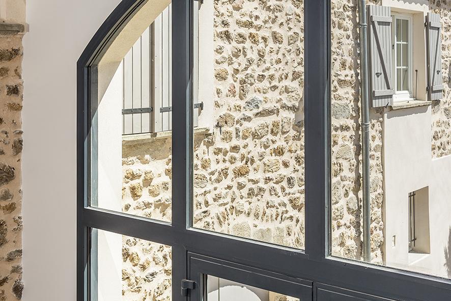 conception fenêtre veranda