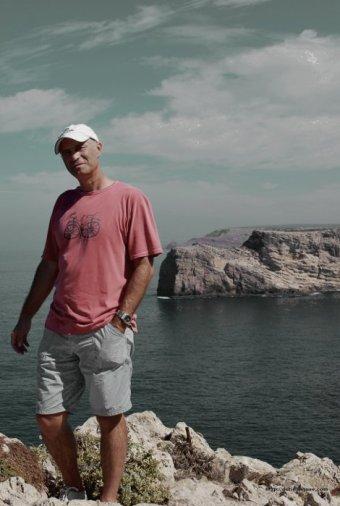 Durius Aquae: Javier en el cabo de San Vicente