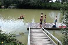 Salto en el Pisuerga