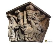 Soria, capitel de la ermita de San Juan de Duero