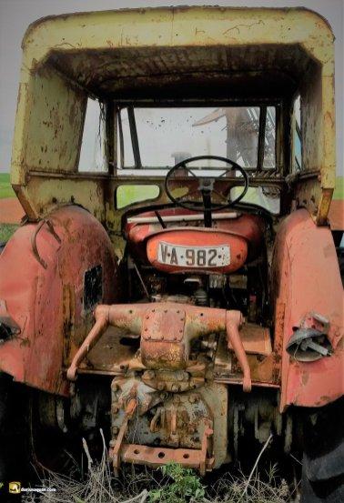 Durius Aquae. el reposos del tractor